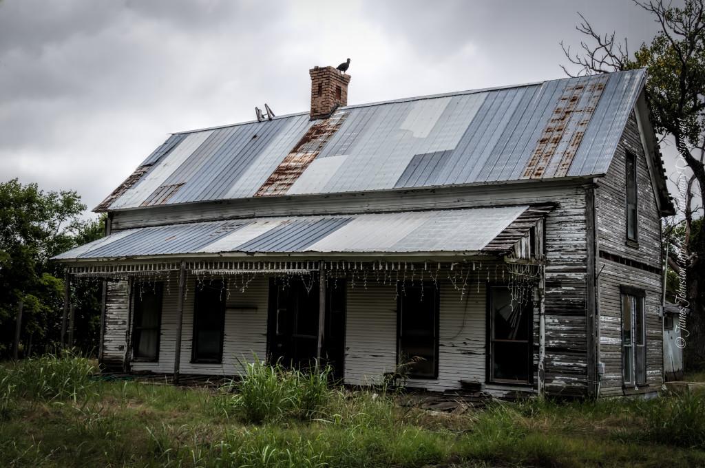 Abandoned Farm House In Rockwall Texas James Johnston