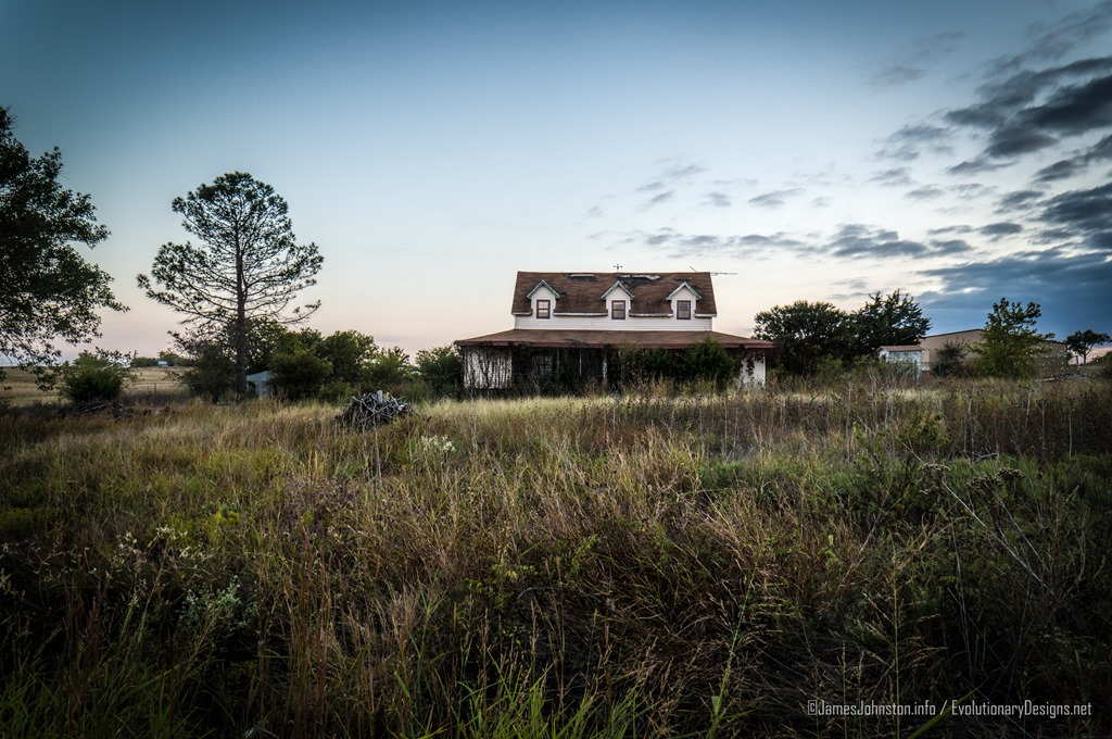 Abandoned Farm House Near Decatur Texas James Johnston