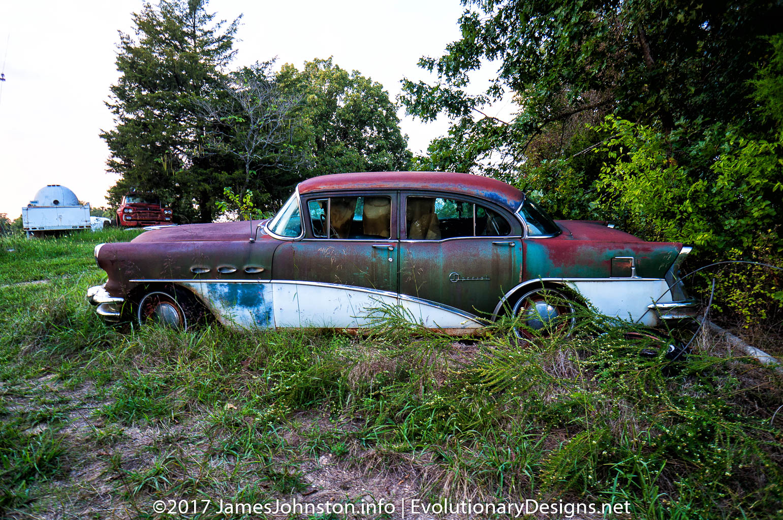 Old Abandoned Vehicles Near Kimberling, Missouri - James Johnston